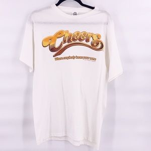 Vintage cheers t shirt size medium everybody knows